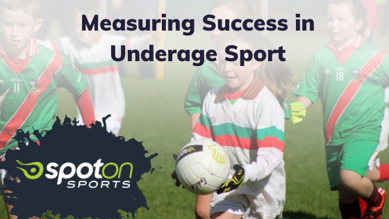 measuring success in underage sports spot on sports