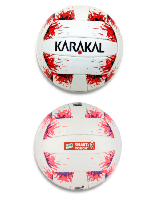 Karakal Smart Touch Red or Pink Footballs