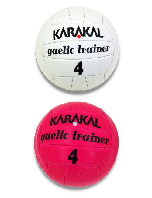 size 4 gaelic training ball spot on sports