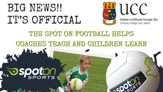 spot on football helps coaches teach and children learn