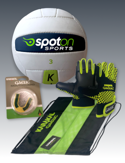 Boys starter pack gaa football spot on sport