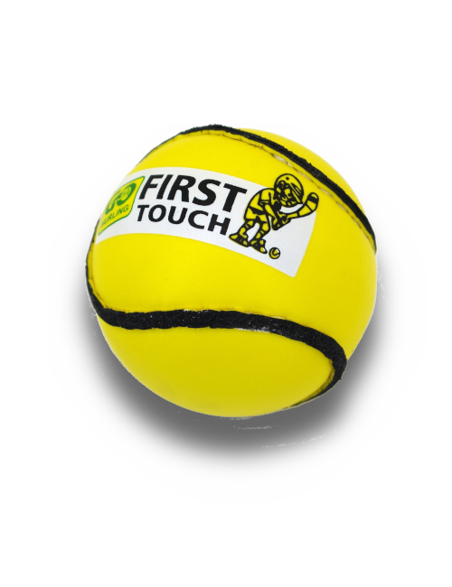 Karakal first touch sliotar yellow spot on sports