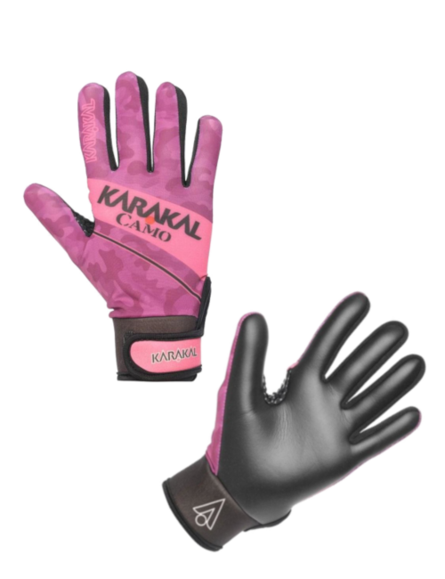 karakal pink football gloves for girls ladies gaa