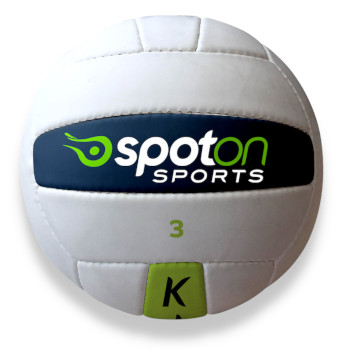 spot on sports ball with hands learn gaa football