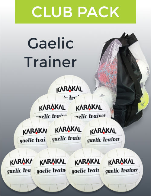 Gaelic trainer club pack spot on sports