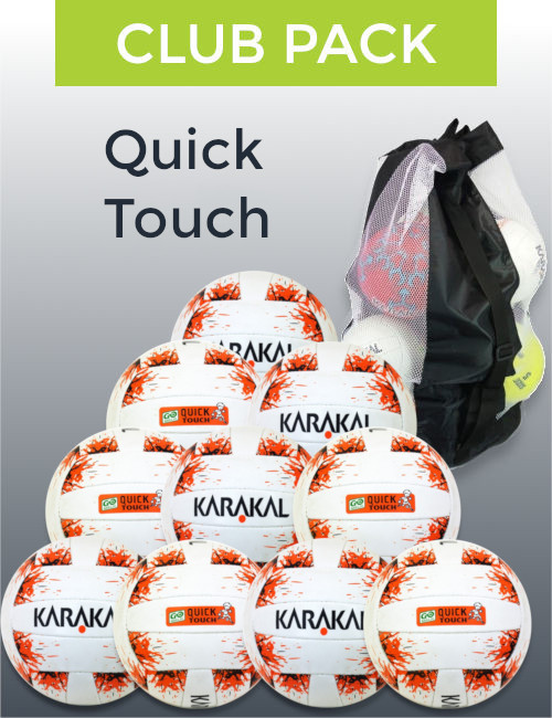 Club pack quick touch spot on sports football